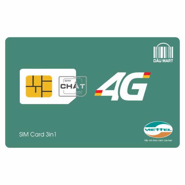 SIM Viettel 4G dùng Free 1 Năm D900 Với 7GB/Tháng Không Cần Nạp Tiền