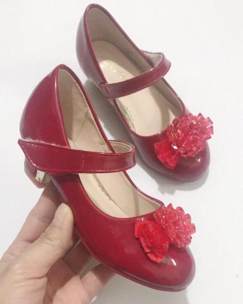 Giá bán Giày cao gót cho bé gái 3cm 91208 sz25-34
