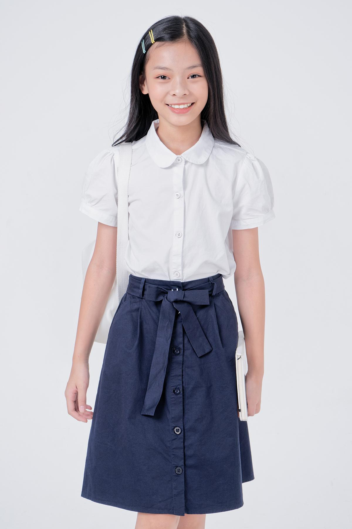 Giá bán Chân Váy Sơ Mi Bé Gái (6-14 Tuổi) Ks Closet