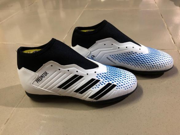 giày đá bóng sân cỏ nhân tạo cổ cao CT2020, mẫu mới đế cao su đã khâu toàn bộ đế -  giày đá banh giá rẻ