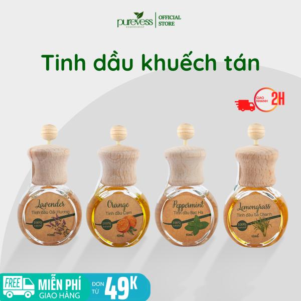 Tinh dầu khuếch tán Purevess - tinh dầu thơm phòng - tinh dầu đuổi muỗi. Dung tích 9ml