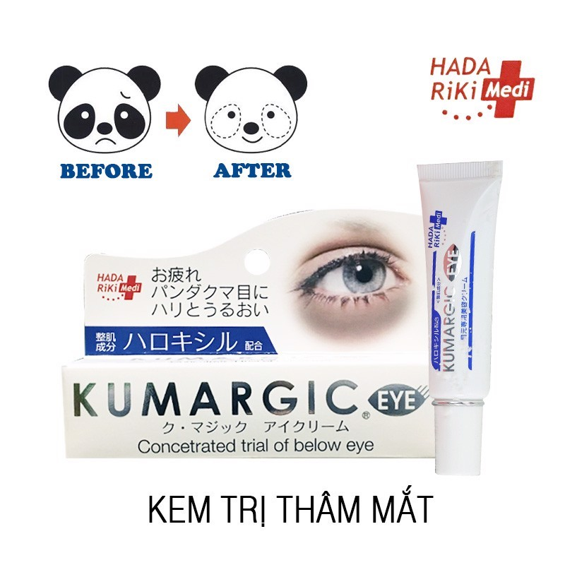 Kem trị thâm quầng mắt Kumargic Eye Nhật cao cấp