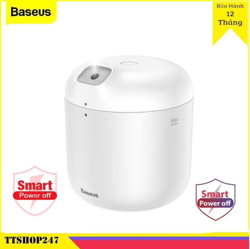 Máy tạo độ ẩm Baseus khuếch tán tinh dầu có đèn LED - Baseus máy phun sương - Hàng chính hãng ttshop247