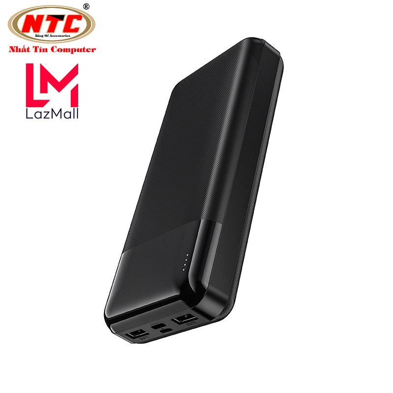 Pin sạc dự phòng Hoco J72A Easy travel 20000mAh 2 cổng Input/Output max 2A - Nhat Tin Authorised Store