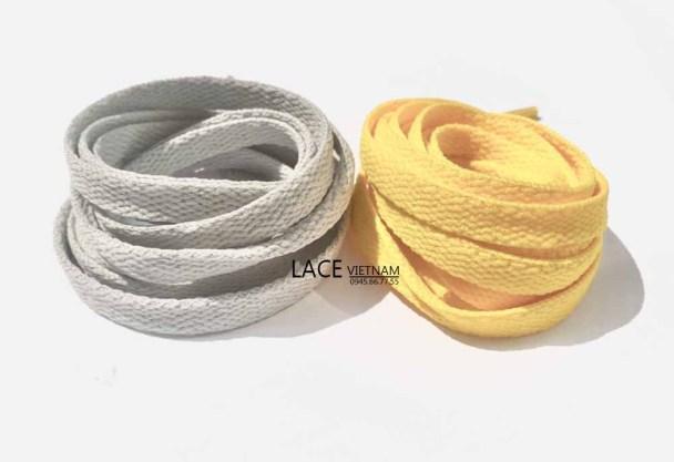 Dây giày 2 màu xám và vàng phù hợp với giày Air Jordan Dior giá rẻ