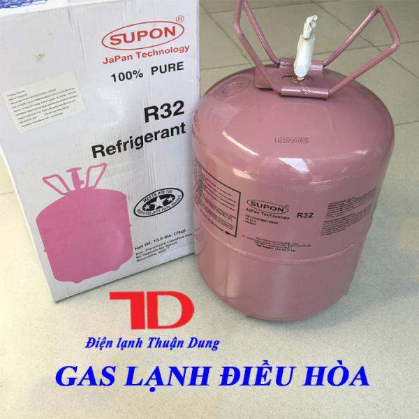 Gas lạnh điều hòa R32 SUPON 7KG, Môi chất lạnh R32