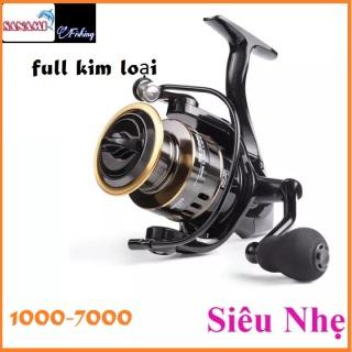 [Siêu Mượt] Máy Câu Cá LINNHUE HE full kim loại TAY QUAY INOX đủ size từ 1000 - 7000 Sanami Fishing - máy câu lure máy câu đứng máy câu cá thumbnail
