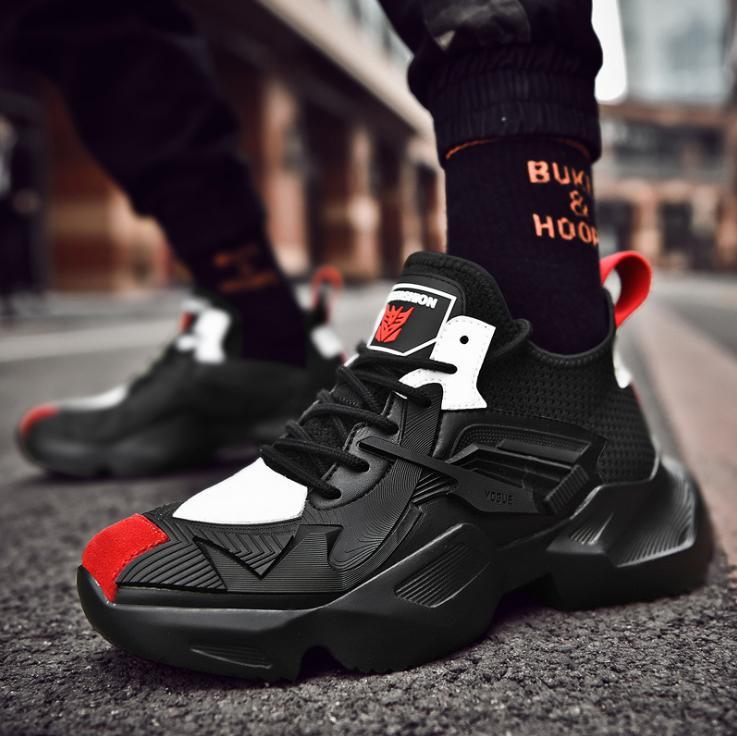 Giày thể thao sneaker nam D87 đường may tinh tế, êm và ôm chân, đế cao su dày dặn, phong cách trẻ trung thời trang