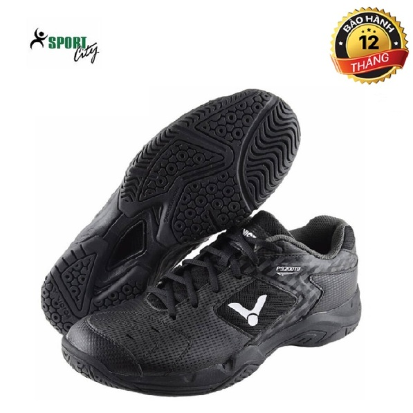 Giày cầu lông Victor P9200-TP cao cấp, màu đen, dành cho nam - Giày cầu lông nam - Giầy đánh bóng chuyền - sportcity giá rẻ