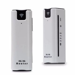 Bộ phát wifi có pin dự phòng 2.200mah, bộ phát wifi 3G 4G di động kiêm pin sạc dự phòng, thiết bị phát wifi từ sim, Phát Mạng Khủng Pin Bền Dùng Liên Tục 10 Tiếng- Bảo Hành 12 Tháng. thumbnail