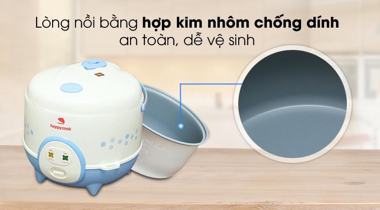 Nồi cơm điện Happycook 1.2 lít HC-120-Xanh ( trưng bày)