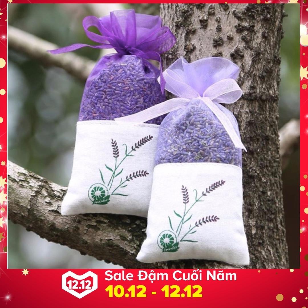 Hình ảnh Túi Thơm Cao Cấp Hoa Lavender - Hàng nhập khẩu