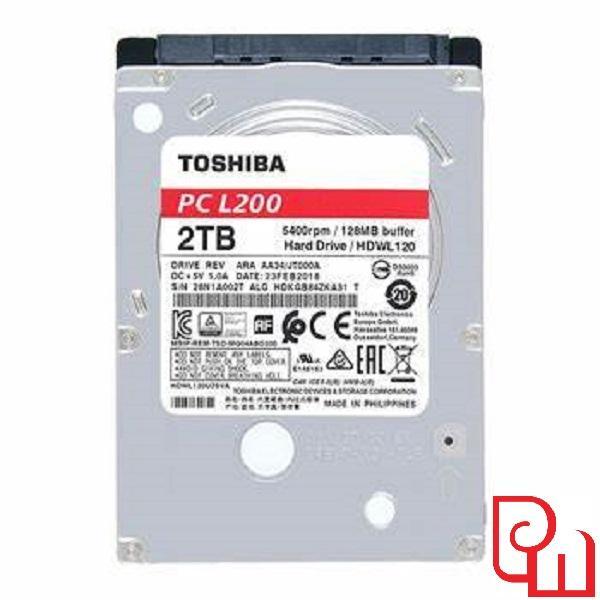 Giá Ổ cứng laptop HDD Toshiba L200 2TB 2.5  HDWL120UZSVA