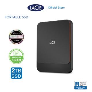 [Trả góp 0%]Ổ Cứng Di Động SSD Lacie Portable USB-C + Rescue Gói cứu dữ liệu thumbnail