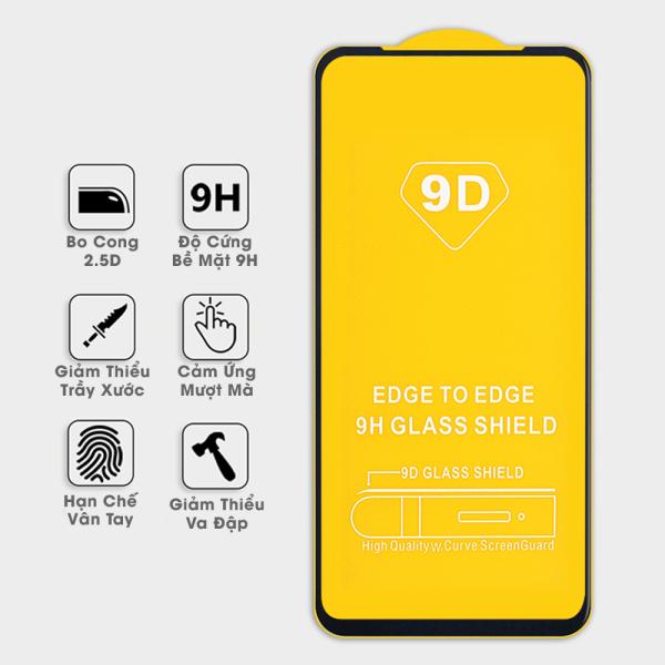 Kính cường lực điện thoại Vsmart Joy 4 Full keo siêu cứng hạn chế vân tay