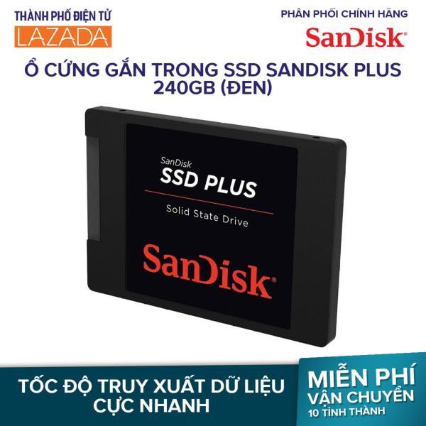 Ổ cứng gắn trong SSD SanDisk Plus 240GB (Đen)