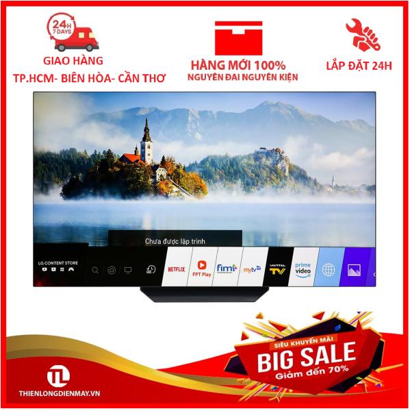 Bảng giá Smart Tivi OLED LG 4K 65 inch 65B9PTA (2019) - Có Magic Remote, Trợ lý ảo Google Assistant, Công nghệ hình ảnh:AI Brightness điều chỉnh độ sáng tự động, 4K Cinema HDR, 4K Upscaler, Công nghệ màn hình OLED