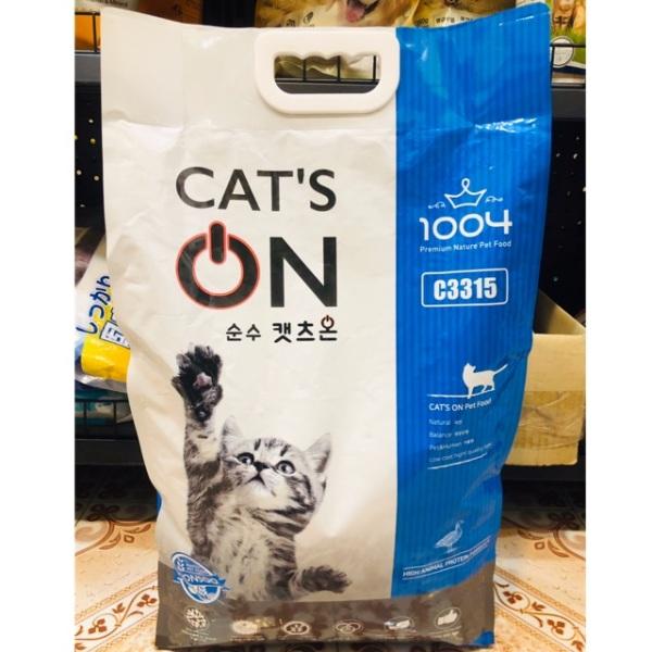 Cat's On thức ăn cho mèo mọi lứa tuổi bao 5kg, cam kết sản phẩm đúng mô tả, chất lượng đảm bảo