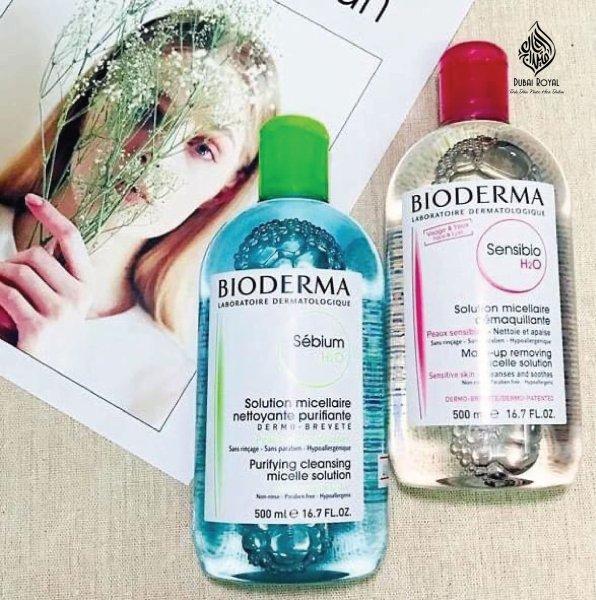 Nước tẩy trang Bioderma H2O dịu nhẹ, làm sạch sâu 500ml
