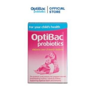 Lợi khuẩn OptiBac for your child s health bổ sung chất xơ cho trẻ sơ sinh và trẻ nhỏ - Nhập khẩu UK thumbnail