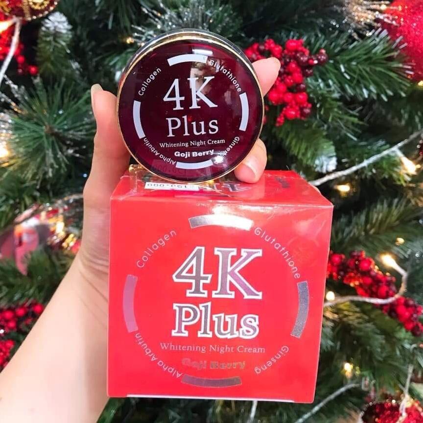 kem sâm 4K Plus chính phẩm Thái Lan cao cấp