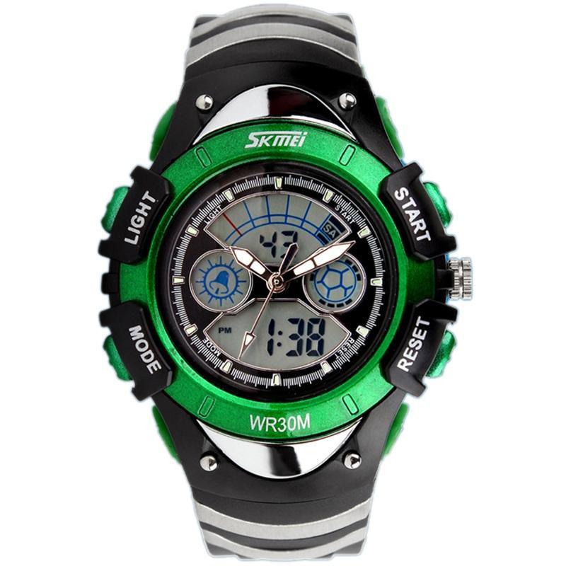 Đồng hồ điện tử cho bé Skmei 0998 có đèn Led chống nước siêu tốt(Có bảo hành) bán chạy