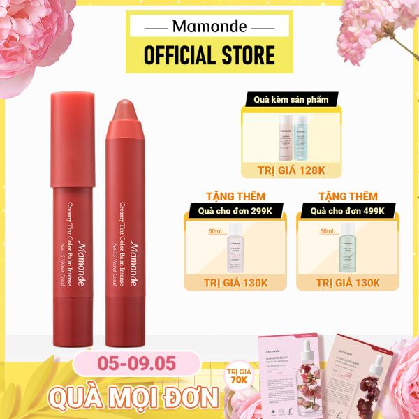 Son bút chì Mamonde chính hãng Hàn Quốc Creamy Tint Color Balm Intense 2.5G