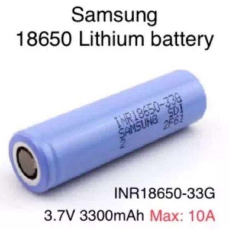Pin 18650 SAMSUNG 3300mah 33G CHÍNH HÃNG