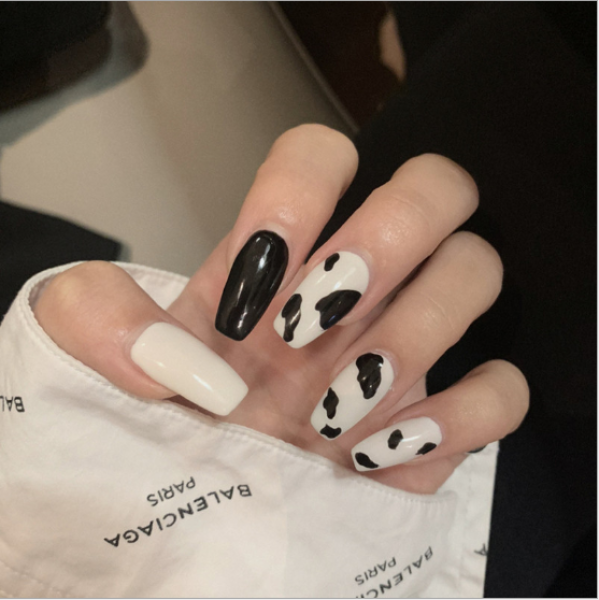 [Tặng keo+dũa] Bộ 24 móng tay giả cao cấp- nail giả có sẵn 100 mẫu- KinaKino phu kienlamdep