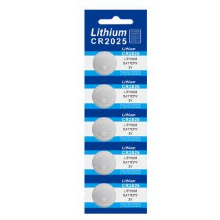 5 viên Pin CR2025 Lithium 3V dùng cho các thiết bị điện tử thumbnail