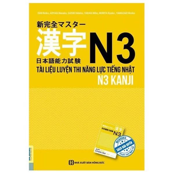 Cuốn sách Tài Liệu Luyện Thi Năng Lực Tiếng Nhật N3- Kanji