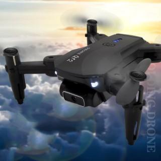 Máy bay flycam giá rẻ Q12, flay cam có camera quay phim, chụp ảnh điều khiển từ xa, Flycam mini quay video- Chế độ nhào lộn 360 độ, Động cơ bền bỉ thumbnail