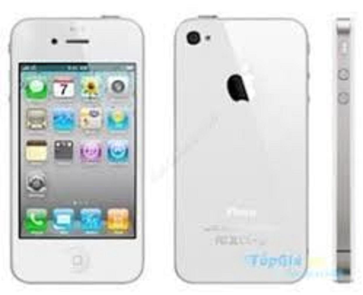 Điện thoại độc cổ iphon 4 - 16gb - Tặng Phụ kiện - giá rẻ tặng kèm sim 3g 10 số-Iphone_4_Quốc_tế