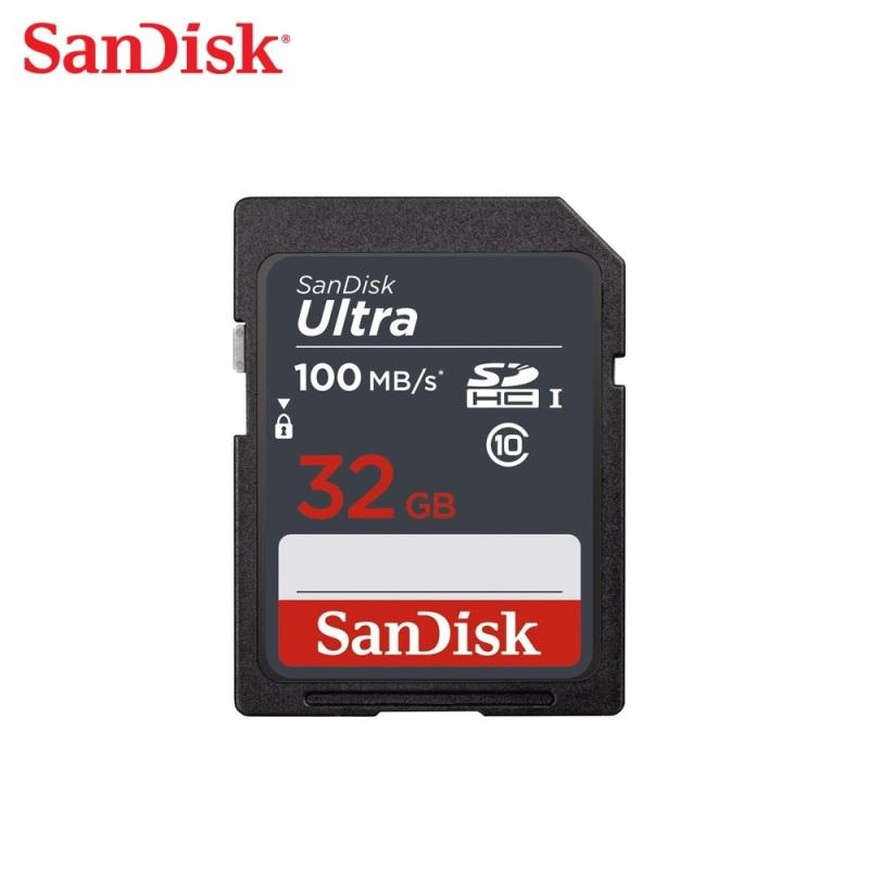 Thẻ nhớ Sandisk SD Ultra Class 10 100MB/s 32GB - Hãng Phân Phối Chính Thức