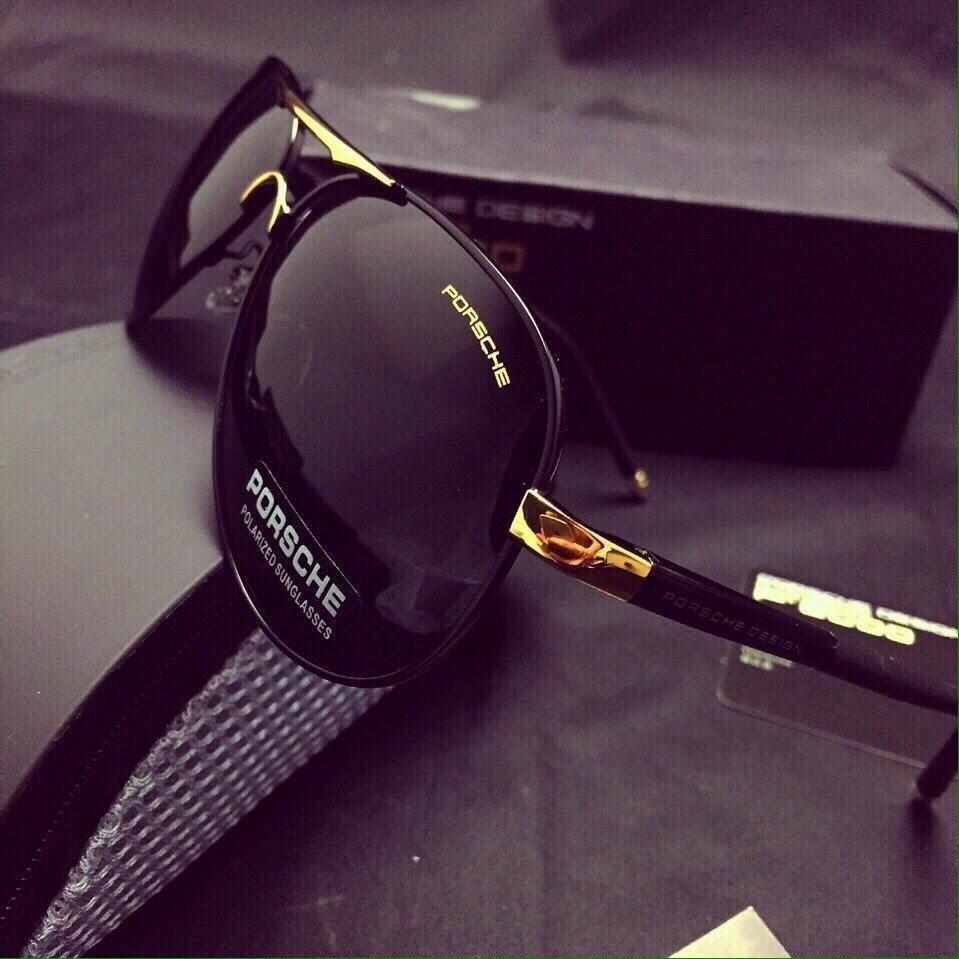 Kính mát nam cao cấp P9000 chống tia cực tím chống xước chống vỡ giảm mỏi mắt thiết kế thời trang