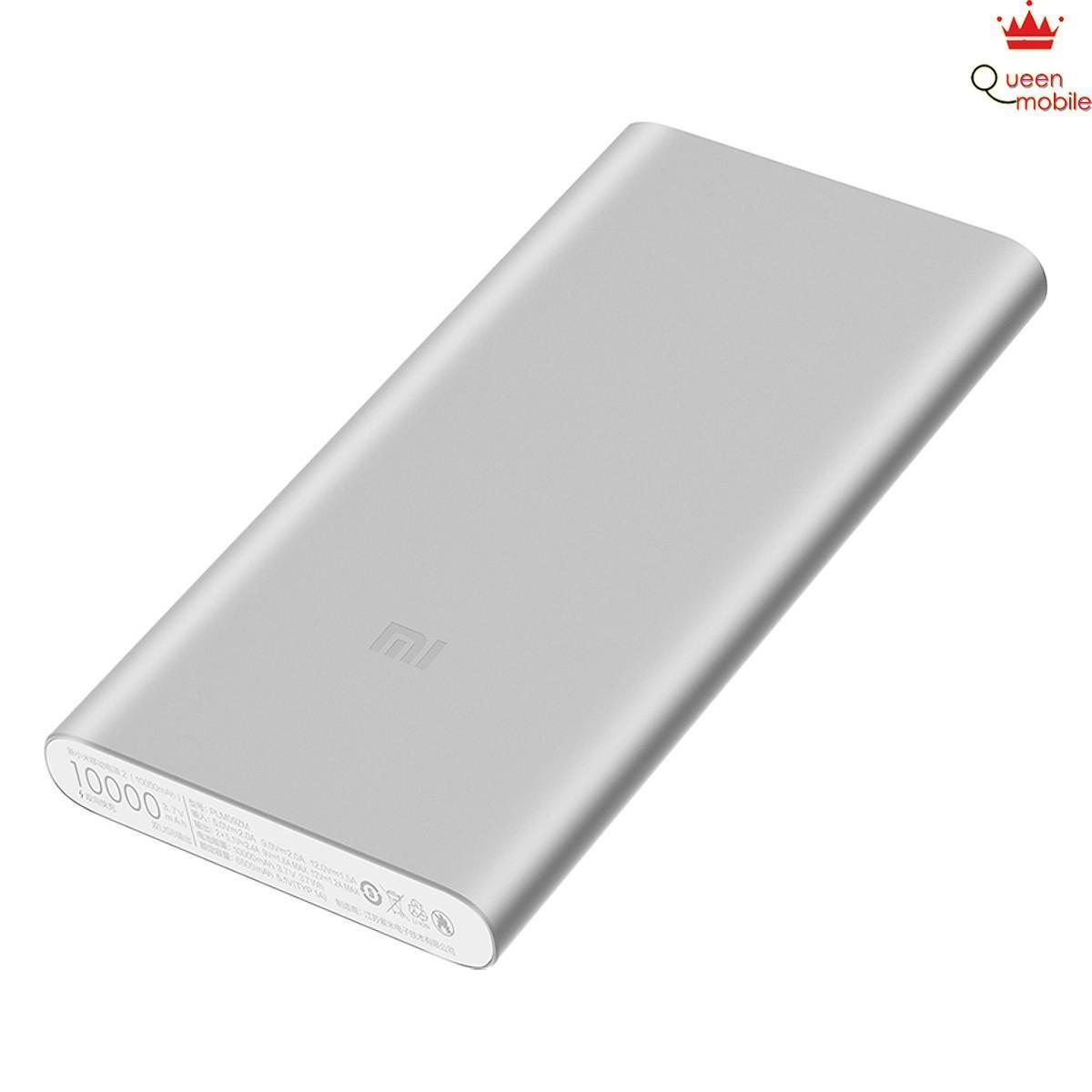 Pin Sạc Dự Phòng Xiaomi Gen 2S Version 2018 10000 mAh 2 Cổng USB Hỗ Trợ QC 3.0 - Bạc