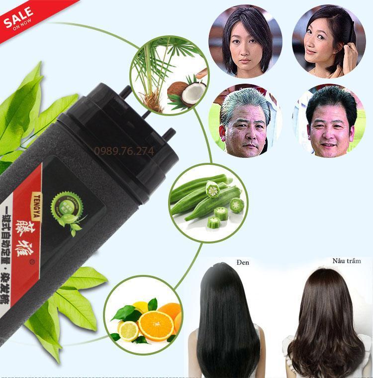 Thuốc nhuộm tóc, Lược nhuộm tóc thông minh thế hệ mới - mẫu HOT hiện nay. Hàng cao cấp. Giảm Tới 50% Chỉ Hôm Nay