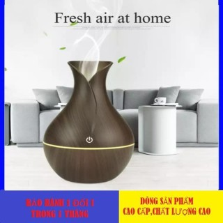 (TẶNG KÈM TINH DẦU) Máy khuếch tán tinh dầu hình búp sen cao cấp phiên bản quốc tế, có chế độ tự động ngắt khi hết nước, hoạt động êm ái không có tiếng ồn - BẢO HÀNH 1 ĐỔI 1 thumbnail