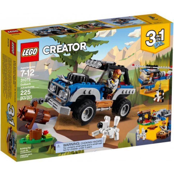 Set Lego Creator - Bộ Lắp Ráp Xe Thám Hiểm địa Hình 3 Trong 1 (Mã 31075) Giá Siêu Rẻ