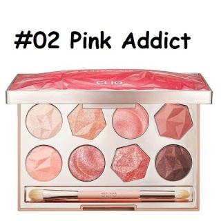 [HCM]Bảng phấn mắt CLIO PRISM AIR EYE PALETTE 02 Pink Addict tone hồng ngọt ngào hàng chuẩn auth thumbnail