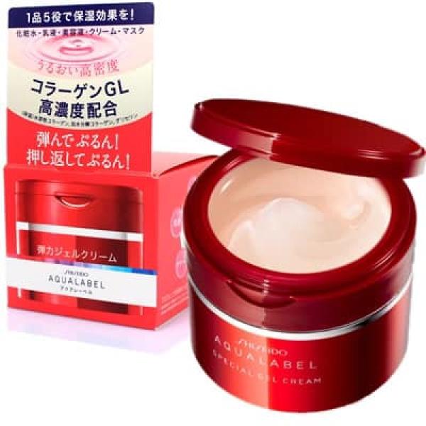 Kem dưỡng Shiseido Aqualabel đỏ Nhật Bản tốt nhất