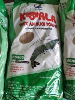 1kg Cám THĂNG LONG hạt siêu mịn, bột tôm sú số 0 (No 00) - thức ăn cho cá bột, tôm giống, tép con thumbnail