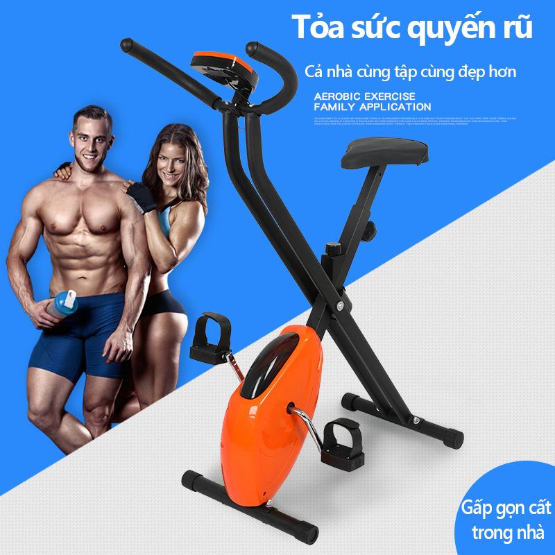 Máy đạp bước máy tập gym có thể gấp gọn dụng cụ tập thể hình nam nữ tại nhà camry