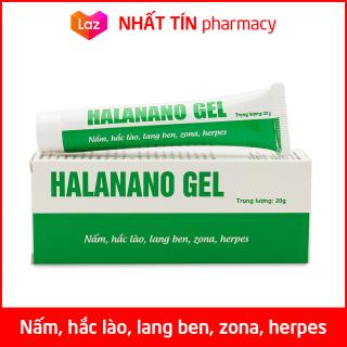 Kem bôi nấm, hắc lào, lăng ben, zona, herpes Halanano Gel - Tuýp 20g thumbnail