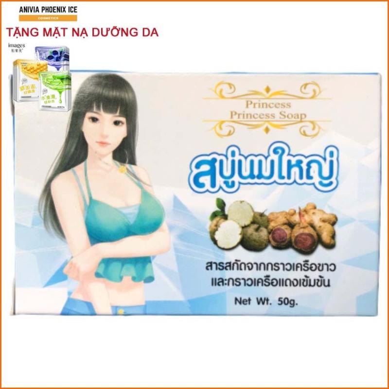 Xà Phòng Nở Ngực Anivia Phoenix ice Princes Hàng Thái Lan Chính Hãng, Soap nở ngực Princess, Hộp 50G cao cấp