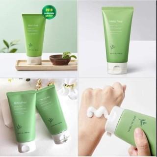 Sữa Rửa Mặt Trà Xanh Innisfree Mụn Cleansing Foam - Sữa Rửa Mặt Ngăn Ngừa Mụn Innisfree trà xanh 150ML thumbnail