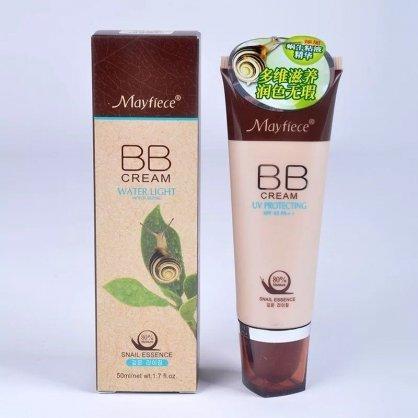 kem nền trắng da BB Cream Water Light Mayfiece Snail tinh chất ốc sên Hàn Quốc 50ml tốt nhất
