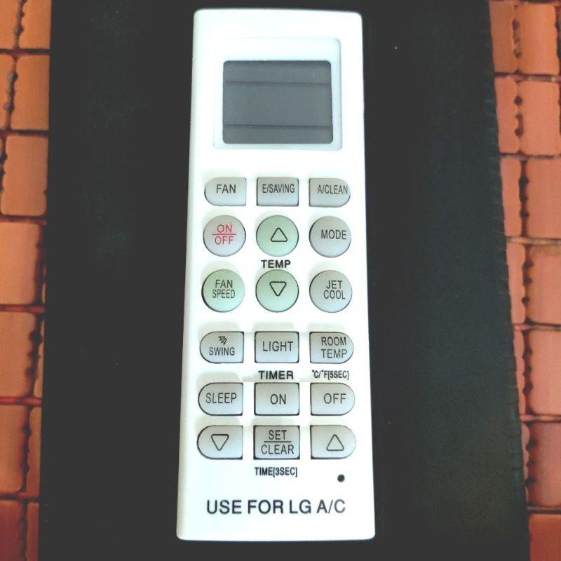 Bảng giá Remote điều khiền điều hoà không khí LG loại dài