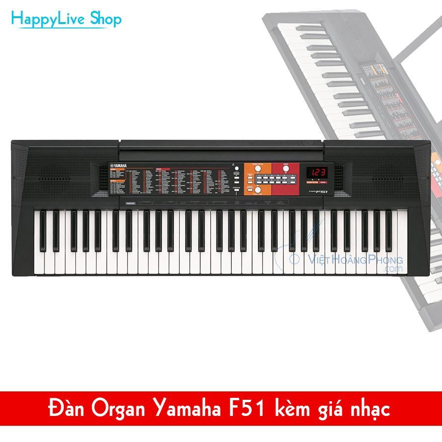 Đàn Organ Yamaha PSR- F51 mới nguyên thùng - Organ cho người mới học - Việt Hoàng Phong