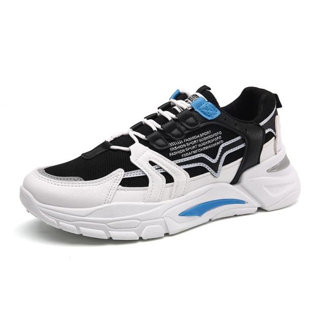 (Có 2 Màu) Giày sneakers nam phong cách - ULZANGGG phối trắng vàng - B end T Shop giá rẻ
